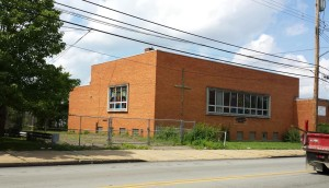 The former Hazelwood Presbyterian Church is where the library will be moving after renovations.