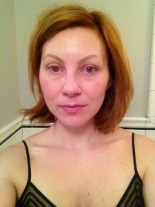 Terra McBride, 35, writer behind the style blog Stylish White Female, posted this photo of her without makeup as part of her #barenaked campaign on the blog. Submitted photo.