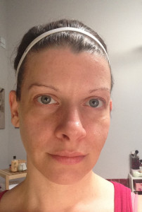 Melinda Urick, 36, who writes the blog 30 Something Therapy, submitted this photo of herself without makeup as part of the #barenaked campaign. Submitted photo.