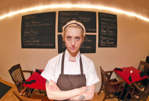 Hilary Zozula is chef and owner of Eden, a raw foods restaurant in Shadyside. Photo: Eden