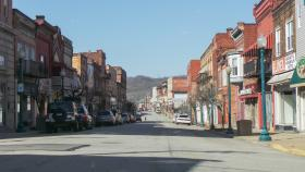 McKean Avenue in Donora today is a quiet street. Before the closing of the mill it was bustling with people and businesses. Holly Tonini / Point Park News Service
