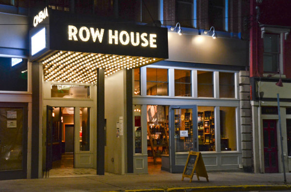 The Row House Cinema is on Butler Street in Lawrenceville. Photo: Haley Wisniewski | Point Park News Service