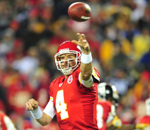 Tyler Palko played against his hometown Steelers as quarterback of the Kansas City Chiefs in 2011. Photo: Chaz Palla | Pittsburgh Tribune-Review
