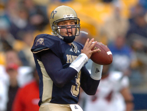 As quarterback at the University of Pittsburgh, Tyler Palko set many school records. Photo: Chaz Palla | Pittsburgh Tribune-Review