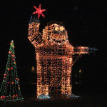 Company dazzles Zelienople with holiday lights display