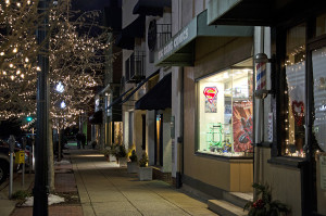 Big Bang Collectibles and Comics lights up Broad Street in downtown Sewickley. Photo: Haley Wisniewski | Point Park News Service