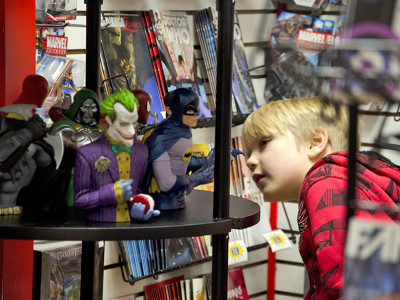 Hollywood's comic-book revolution helps shops