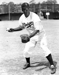 Jackie Robinson. Courtesy of the Jackie Robinson, the Official Website.