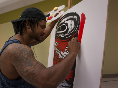 Q&A: Player-turned-painter shares his journey