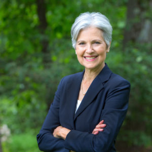 Third-party candidate Jill Stein. Photo credit: jill2016.com