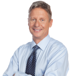Third-party candidate Gary Johnson. Photo credit: johnsonweld.com
