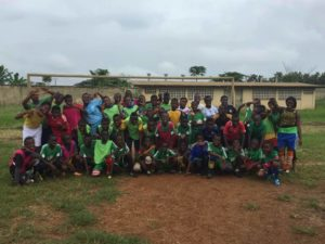 CameroonFDP soccer players pose for a photo. Submitted photo: CameroonFDP staff