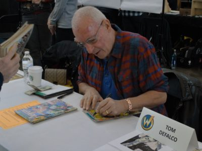 Legendary comic book writer discusses love of characters